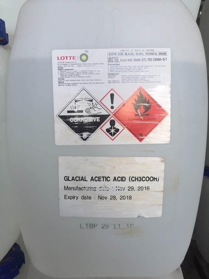 Acid Axetic hoá chất biên hoà đồng nai