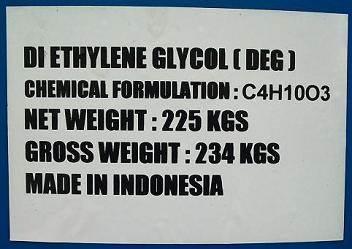 DIETHYLENE GLYCOL (DEG) hóa chất biên hòa đồng nai