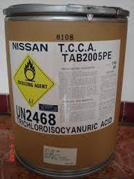 TRICHLOROISOCYANNURIC ACID-TCCA hoá chất biên hoà đồng nai