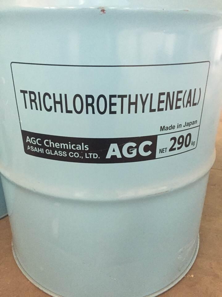 Dung môi tẩy dầu mỡ TCE hoá chất biên hoà đồng nai