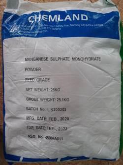MANGANESE SULPHATE MONO-MNSO4 hóa chất biên hòa đồng nai